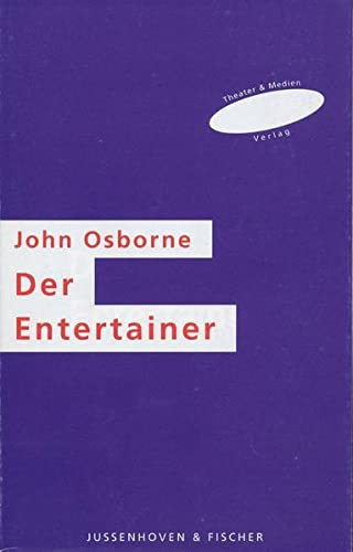 essays-the entertainer john osborne Osborne is singled out as the grand old man of the anger play­ wrights, the standard bearer of protest theater, and the leader of the new wave of realism in british theater.
