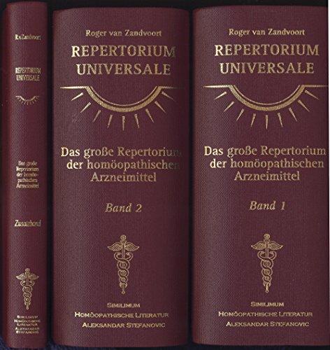 9783930256297: Repertorium Universale /Complete Repertory - Neue Deutsche Ausgabe: Das grosse Repertorium der homöopathischen Arzneimittel. Studienausgabe im Taschenformat