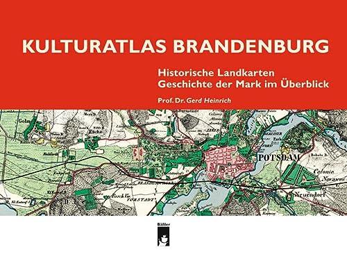 Kulturatlas Brandenburg: Historische Landkarten, Geschichte der Mark