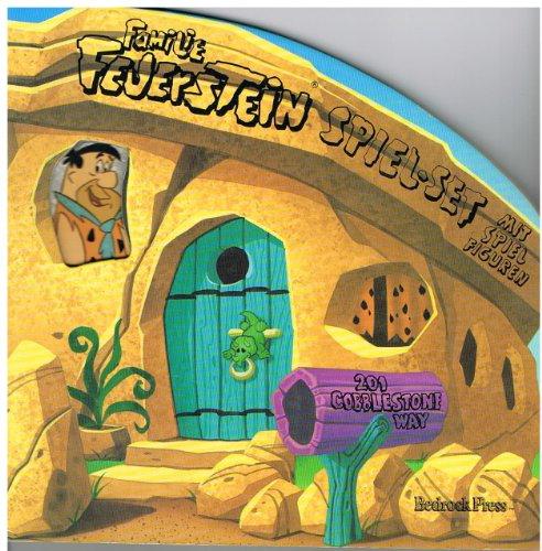 9783930417506: Familie Feuerstein Spielset. Mit Spielfiguren