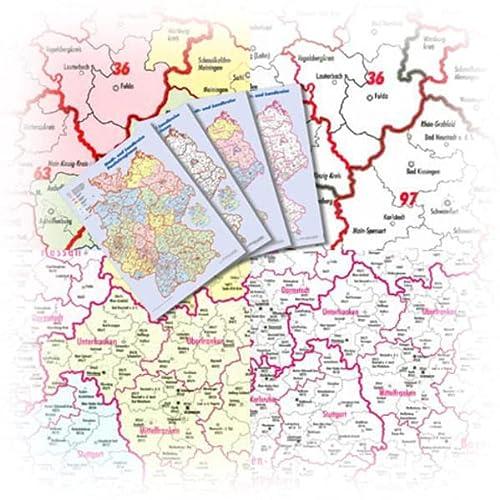 9783930468423: Bacher Marketingkarten Deutschland