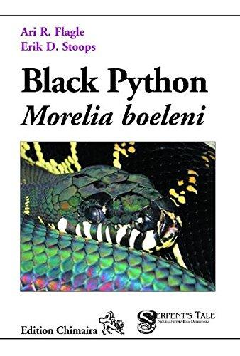 Black Python - Morelia boelini: Ari R. Flagle