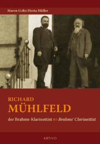 9783930643462: Richard Muhlfeld der Brahms Klarinettist