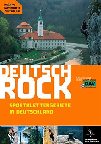 9783930650170: Deutschrock. Sportklettergebiete in Deutschland