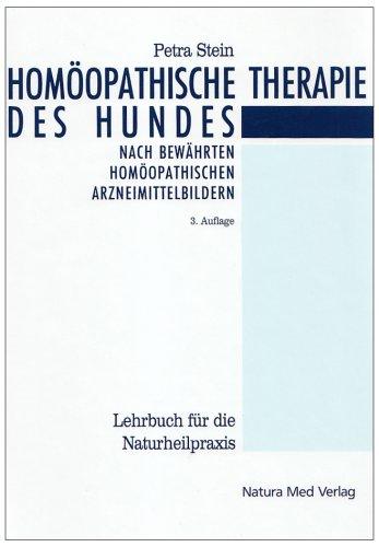 9783930706075: Homöopathische Therapie des Hundes: Ein Leitfaden für die Hundepraxis mit umfassender Übersicht der bewährten homöopathischen Arzneimittelbilder. Lehrbuch für die Naturheilpraxis