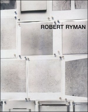 Robert Ryman (German Edition) (3930717670) by Ryman, Robert
