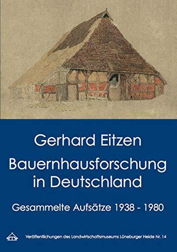 9783930737505: Bauernhausforschung in Deutschland