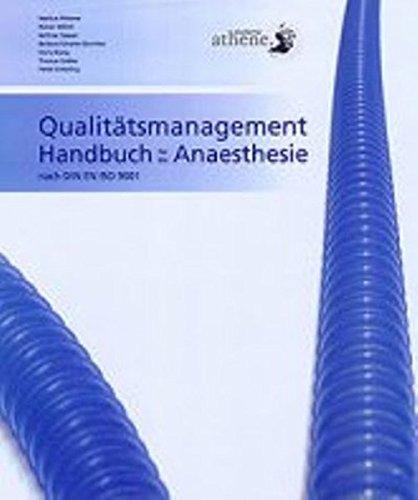 9783930823291: Qualitätsmanagement Handbuch für die Anaesthesie nach DIN EN ISO 9001:2000