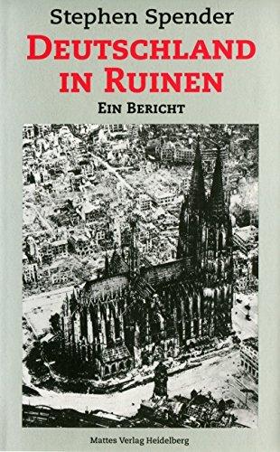 9783930978243: Deutschland in Ruinen: Ein Bericht