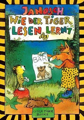 9783931081713: Wie der Tiger lesen lernt: Little Tiger Books