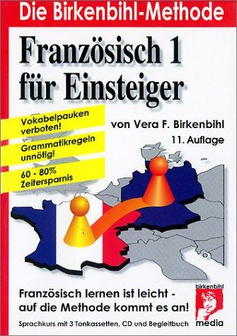 9783931084110: Französisch für Einsteiger, 3 Cassetten, 1 CD-Audio u. Begleitbuch