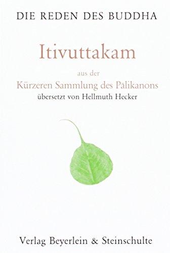 9783931095475: Itivuttaka: Sammlung der Aphorismen