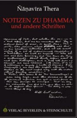 9783931095635: Notizen zu Dhamma und andere Schriften