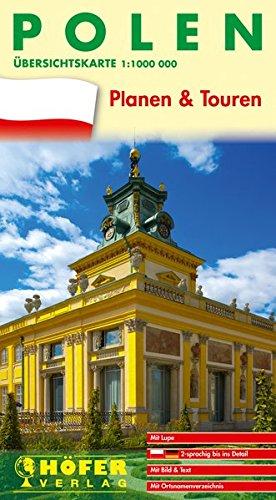 9783931103392: Übersichtskarte Polen - PL 777: Planen & Touren