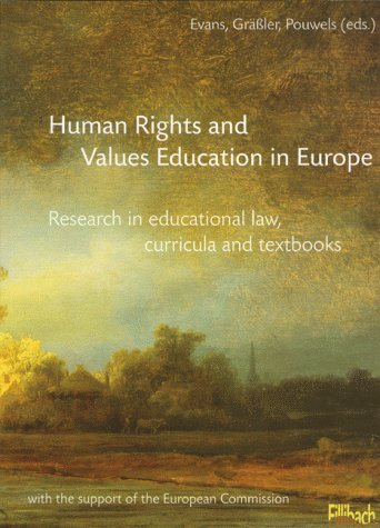 HUMAN RIGHTS AND VALUES EDUCATION IN EUROPE: Evans D.