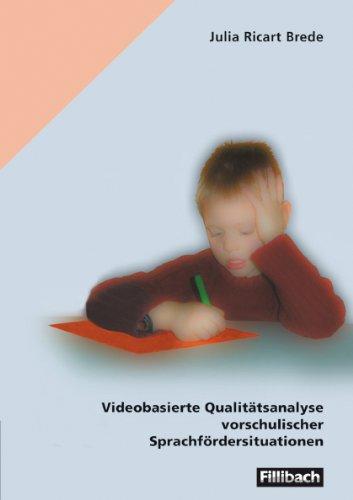 9783931240653: Videobasierte Qualitätsanalyse vorschulischer Sprachfördersituationen