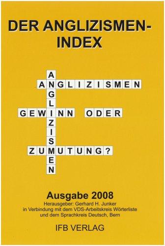 9783931263805: Der Anglizismen-Index