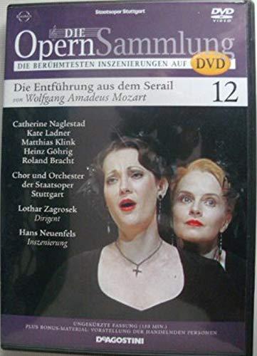 9783931277260: Die Opernsammlung - Die berühmtesten Inszenierungen auf DVD ~ Die Entführung aus dem Serail von Wolfgang Amadeus Mozart 12 - ungekürzte Fassung 150 Min. (Arthaus Musik)