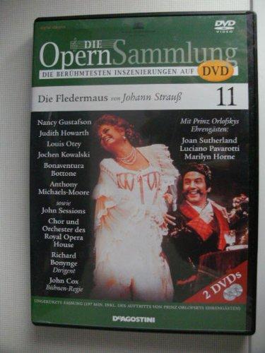 9783931277277: Die Opernsammlung - Die berühmtesten Inszenierungen auf DVD ~ Die Fledermaus von Johann Strauß 11 - ungekürzte Fassung 197 Min. (Arthaus Musik)