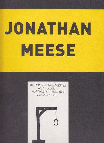 """Jonathan Meese. """"Stierhoden und Absinth"""". Text Veit: MEESE, Jonathan."""