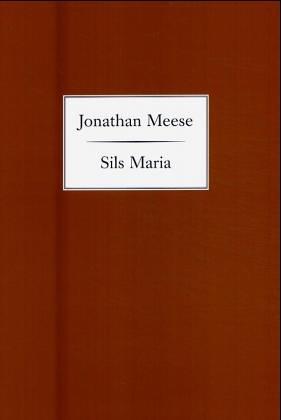 Jonathan Meese. Sils Maria: Jonathan Meese