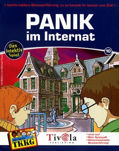TKKG 10: Panik im Internat: Wolf, Stefan