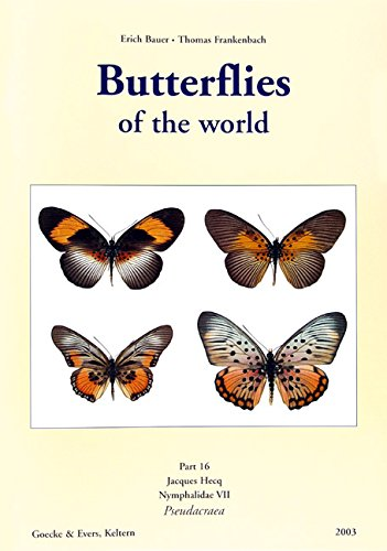 9783931374433: Butterflies Of The World (Nymphalidae VII, Pseudacraea)