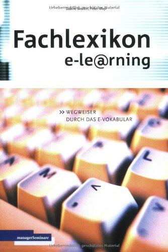 9783931488642: Fachlexikon e-learning.