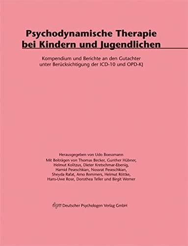 Psychodynamische Therapie bei Kindern und Jugendlichen (Paperback)