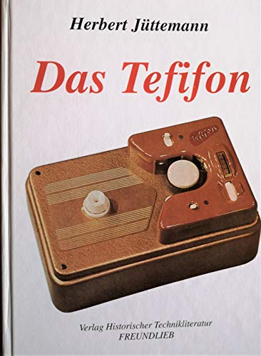 9783931651008: Das Tefifon (German Edition)