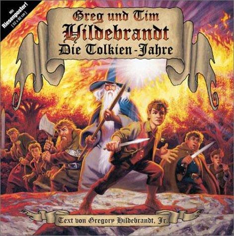 Die Tolkien-Jahre (393167021X) by Greg Hildebrandt; Tim Hildebrandt