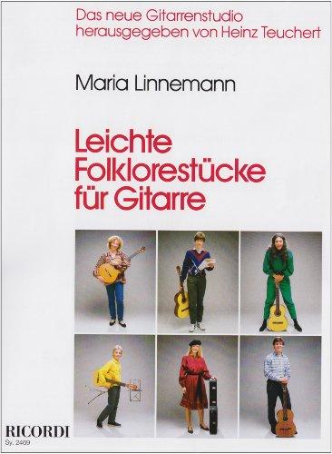 9783931788377: Leichte folklorestucke guitare: Das neue Gitarrenstudio