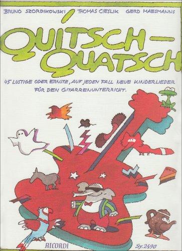 9783931788421: Quitsch-Quatsch - Nur Buch