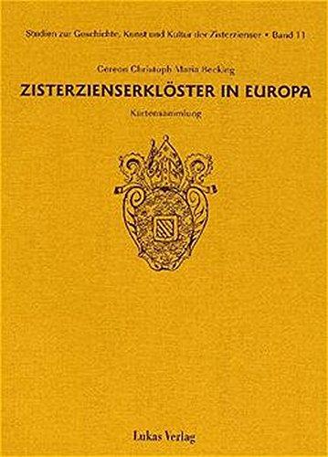 9783931836443: Zisterzienserklöster in Europa: Kartensammlung