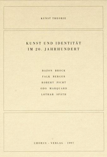 Kunst und Identität im 20. Jahrhundert : Mössinger, Ingrid [Hrsg.]: