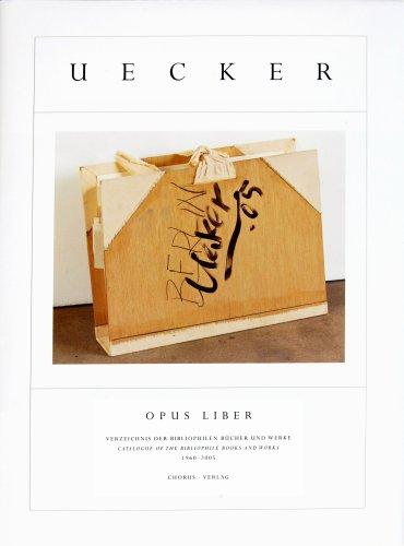 9783931876661: Günther Uecker: Opus Liber