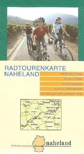 Radtouren durch das Naheland. Radwanderkarte 1 : 75 000: Radweg Nahe, Radweg Saar-Hunsrück