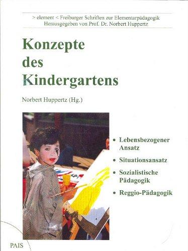 9783931992057: Konzepte des Kindergartens