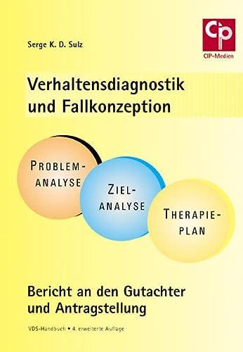 9783932096495: Verhaltensdiagnostik und Fallkonzeption