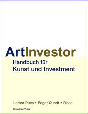 9783932114748: Art Investor Handbuch für Investment und Kunst