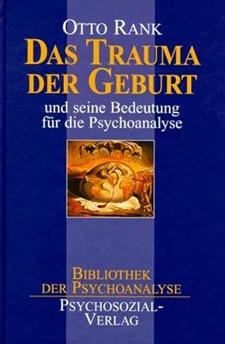 9783932133251: Das Trauma der Geburt.