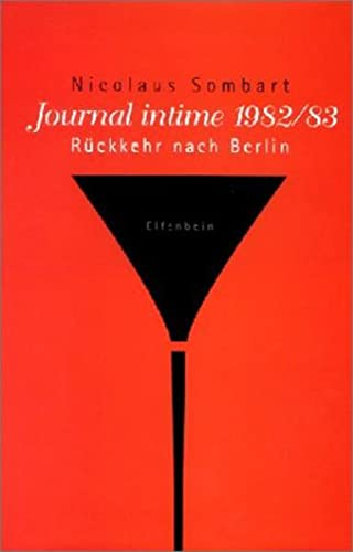 9783932245602: Journal Intime 1982/83