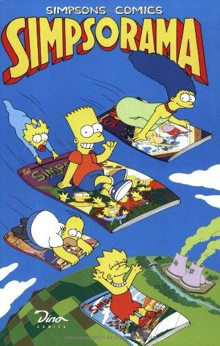 9783932268779: Simpsons Comics Simpsorama