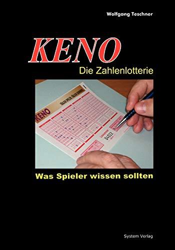 9783932409080: KENO - Die Zahlenlotterie (German Edition)