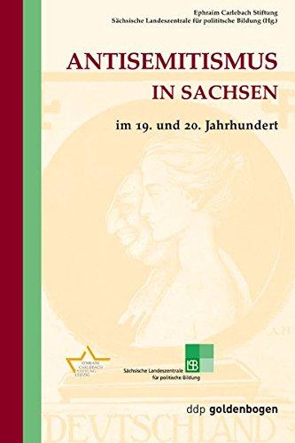 9783932434235: Antisemitismus in Sachsen im 19. und 20. Jahrhundert