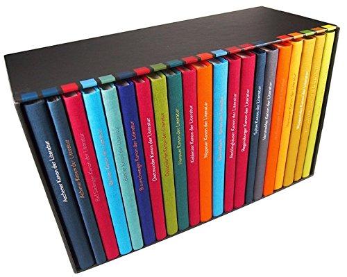 9783932443480: Kanon der Literatur - Gesamtkanon, 20 Bde. u. Registerbd.