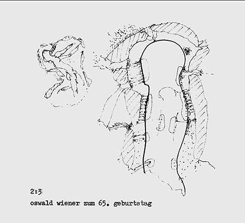 9783932513183: 2 : 3. CD: Oswald Wiener zum 65. Geburtstag