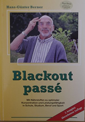 9783932516108: Blackout passe