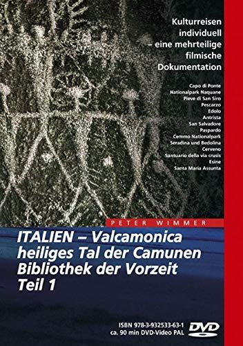 9783932533631: Italien - Valcamonica, heiliges Tal der Camunen, Bibliothek der Vorzeit Teil 1 [Alemania] [DVD]