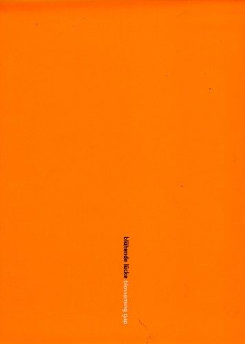 Blossoming Gap: Edition Axel Menges